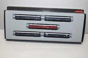 Märklin 87351 Mini Club Wagon Train Set DB Loreley Gauge Z Original Packaging