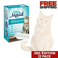 Waste Receptacles Self Cleaning Litter Boxes Containers Disposal Littermaid Bin