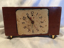 Vintage Electric Alarm Clock Telechron General Electric GE Mantle/Nightstand