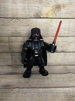 Star Wars Galactic Heroes Mega Mighties Darth Vader 10-Inch Action Figure Toy