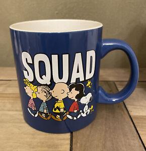 Peanuts - SQUAD - Snoopy & The Gang - Blue All Season Large Mug