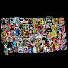 100 pcs Skateboard Stickers Graffiti Laptop Sticker Luggage Car Decals Mix Lot