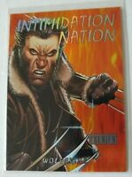 2013 Fleer Retro Marvel Intimidation Nation #1 Wolverine Free Shipping!