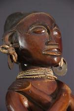 CHOKWE STATUE AFRICAN TRIBAL ART AFRICAIN ARTE AFRICANA AFRIKANISCHE KUNST **