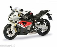BMW S 1000 RR, racing red/alpin white/Art.-Nr. 450666300, Schuco Motorrad Modell