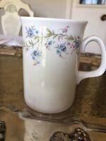 Fine Bone china Royal Court made in England Flowers theme Tea Coffee Mug Cup