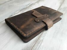 Rustic Leather Moleskine Classic Cover Leather Travel Journal Case Notebook Case