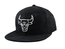 NEW ERA 59FIFTY FITTED CAP. BLACK CAMO CHICAGO BULLS