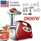 Powerful Electric Meat Mincer Grinder 2800W Sausage Maker Food Grinding Machine photo