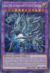 Blue-Eyes Alternative Ultimate Dragon TN19-EN001 Prismatic Secret Rare