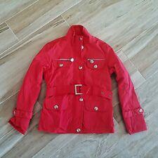 giubotto giacca bambina impermeabile, giacca rossa cinturino ragazza 9-10 anni