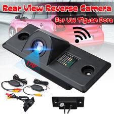 Wireless Rear View Reversing Camera 170° For VW Tiguan Golf Mk4 Bora Skoda Fabia