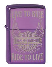 2001602 Zippo Feuerzeug Harley Davidson