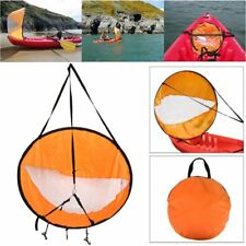 Downwind Wind Sail Kit 42 inches Kayak Canoe Accessories, Easy Setup & Depl S5C3