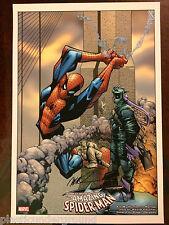 HUMBERTO RAMOS MARVEL PETER PARKER SPIDER-MAN #45 VOL 2 COVER ART PRINT SIGNED