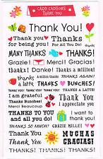 Mrs Grossmans Thank You Card Captions Sticker Sheet