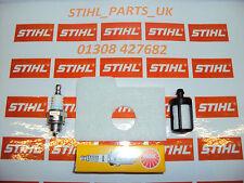 Genuine STIHL servicio Kit se ajusta Ms170, Ms180,017 & 018 Plug & Filtros