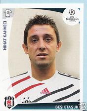 Adesivo DI CALCIO-PANINI UEFA CHAMPIONS LEAGUE 2009-10 - N. 122-BESIKTAS JK