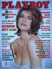 KATARINA WITT  December 1998 PLAYBOY  DAVID DUCHOVNY  INSIDE THE PLAYBOY MANSION