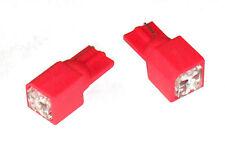 2x 5 LED Red T10 W5W 501 194 921 904 W23 LED Bulbs (Pr)
