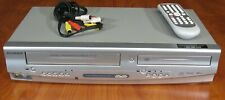 New listing Sylvania Dvc865F Dvd Player Vcr 4 Head HiFi, Perfect Performance, w/Rmt & Cables