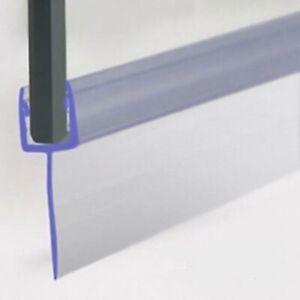Duschdichtung für 5-6mm Duschtrennwand unten, 60 cm lang, Höhe der Lippe 30mm