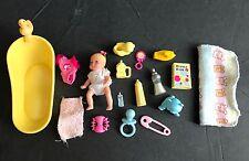 Mattel Barbie baby Krissy   & accessories