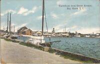 Bay Shore, NEW YORK - Ocean Avenue - Waterfront - Long Island - sailboats