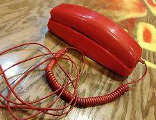 Telestyle Red Trimline Touchtone Pulse Telephone Phone Ph-200
