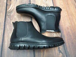 Cole Haan Zerogrand Chelsea Leather Boot Black New Men's C30163 SIZE 7