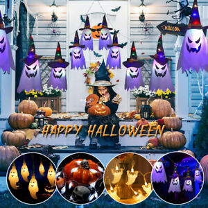 Halloween Ghost String Lights LED Garden Outdoor Party Home Decor Horror Prop UK
