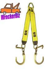 "G70 WRECKER TOW TRUCK, CARRIER WINCH V STRAP, J and Mini J Hook - 24"" LONG LEGS"