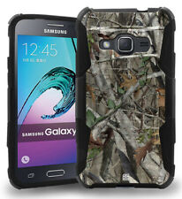 AUTUMN WOODS CAMO TREE CASE BELT CLIP HOLSTER FOR SAMSUNG GALAXY AMP-2 EXPRESS-3