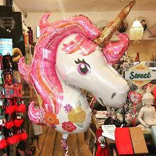 Giant Unicorn Foil Balloon Birthday Party Magical Decoration Girls Rainbow