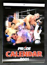 MMA PRIDE.OFFICIAL CALENDER 2001 KAZUSHI SAKURABA