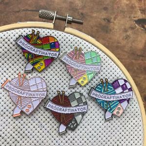 Procraftinator Needle Minder Or Magnet   Sewing, Knitting, Craft  