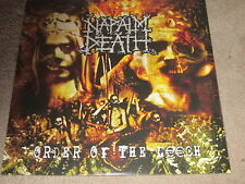 NAPALM DEATH - ORDER OF THE LEECH - LP RECORD