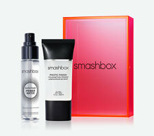 NIB Smashbox Full Size Photo Finish Primer & Trvl Sz Primer Water Free Ship $61