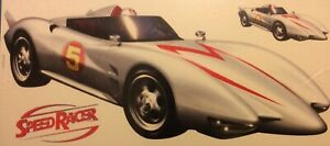SPEED RACER / MACH 5, PEEL & STICK GIANT APPLIQUÉ (WALL DECALS) REMOVABLE (YORK)