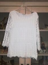 blouse blanc créme dentelle Bel&BO    Taille : S