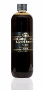 Pro-Grade Hickory - Liquid Smoke 500ml - Why Buy TINY Bottle - *EXPRESS Shipping