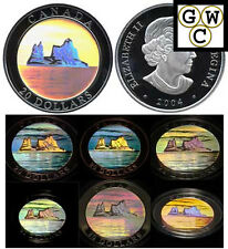 2004 Iceberg $20 Hologram .9999 Fine Silver (Natural Wonders) (10840)(NT)