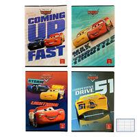 Cahier Pack 10 Pièces Maxi Cahiers A4 Disney Cars Rayures À 3380