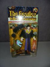 THE BEATLES JOHN LENNON MCFARLANE FIGURE IN PACKAGING YELLOW SUBMARINE + NOTE
