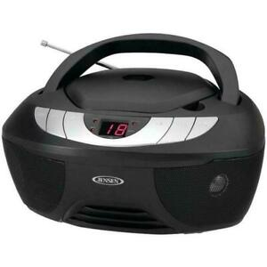 Jensen CD-475 Portable Stereo CD Player with AM & FM Radio