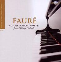 JEAN-PHILIPPE/RIGUTTO,BRUNO COLLARD-FAURE:SÄMTLICHE KLAVIERWERKE 4 CD NEW+ FAURE