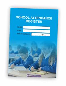 Attendance Register Book A4 School Class Childminding Nursery Teacher Child