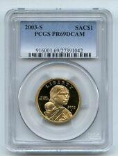 2003 S $1 Sacagawea Dollar PCGS PR69DCAM