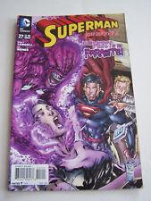 DC COMICS WARNER BROS , SUPERMAN , IN ENGLISH N° 27 DE 2014 .