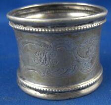 Silber, 800er- 925er Objekte Vor 1945 Serviettenring Gravur Jp 800er Silber